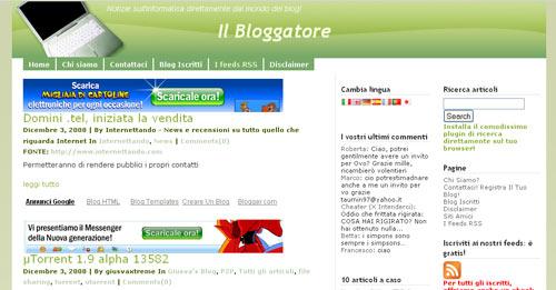 Il Bloggatore - Home page