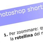 Quiz sugli shortcuts di Photoshop: visione documento