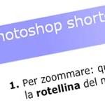 Quiz sugli shortcuts di Photoshop: visione documento