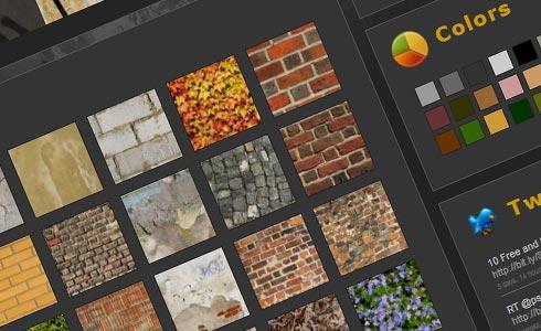 blog con ampia raccolta di textures