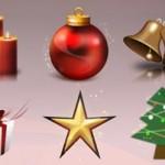 Icone natalizie per tutti gli usi