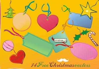 christmas free vector 2