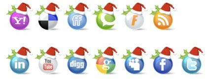 icone social network a natale