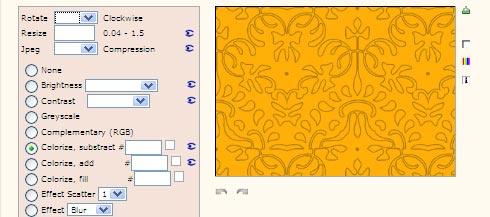 pattern generator online per creare sfondi e background