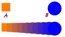 Esempio di fusione in Adobe Illustrator