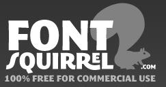 Logo di Font Squirrel, sito che offre font gratuiti