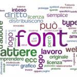 Posso usare questo font per creare un logo? Il problema delle licenze