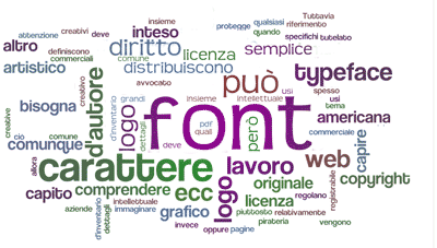 tag-cloud: font, copyright e licenze