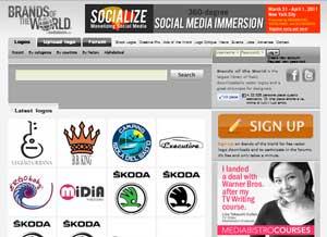 Brandsoftheworld sito con molti loghi famosi