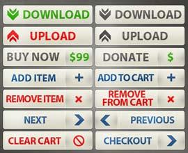 pulsanti call to action per e-commerce e shopping online