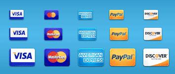 carte di credito visa paypal icone gratuite
