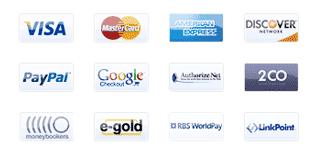 visa paypal mastercard icone gratis