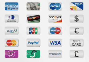 free icons credit cards