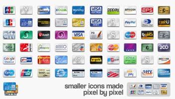 tutte le carte di credito, icone gratuite