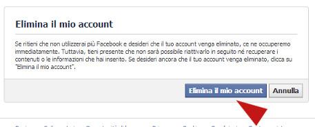 Trackid=sp-006 facebook eliminare account Bactefort Pagamento